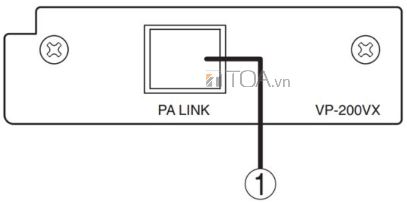 TOA VP-200VX, hệ thống nguồn cấp điện TOA VP-200VX