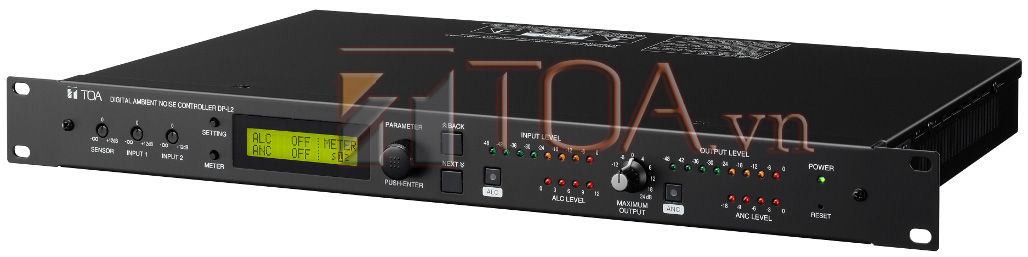 TOA DP-L2 CE301 : DIGITAL AMBIENT NOISE CONTROLLER