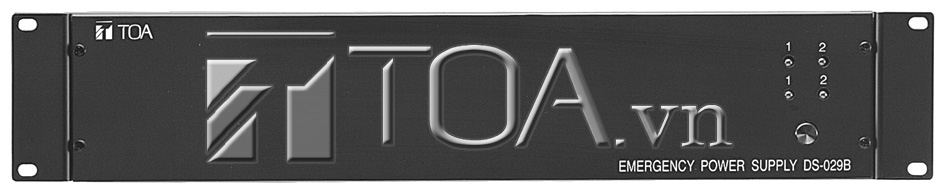 TOA DS-1000B 301H : DC POWER SUPPLY PANEL, TOA DS-1000B 301H