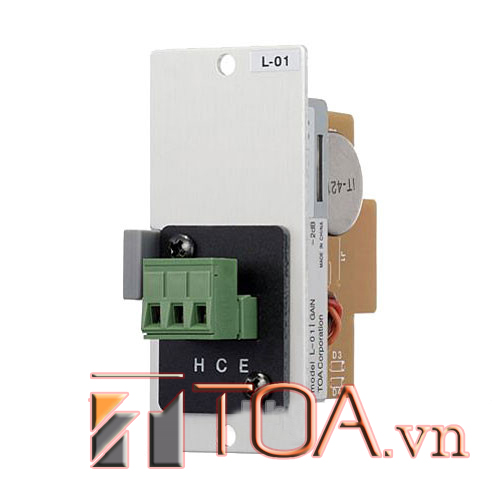 TOA L-01S T : LINEMATCHING TRANS MODULE, SẢN PHẨM TOA L-01S T