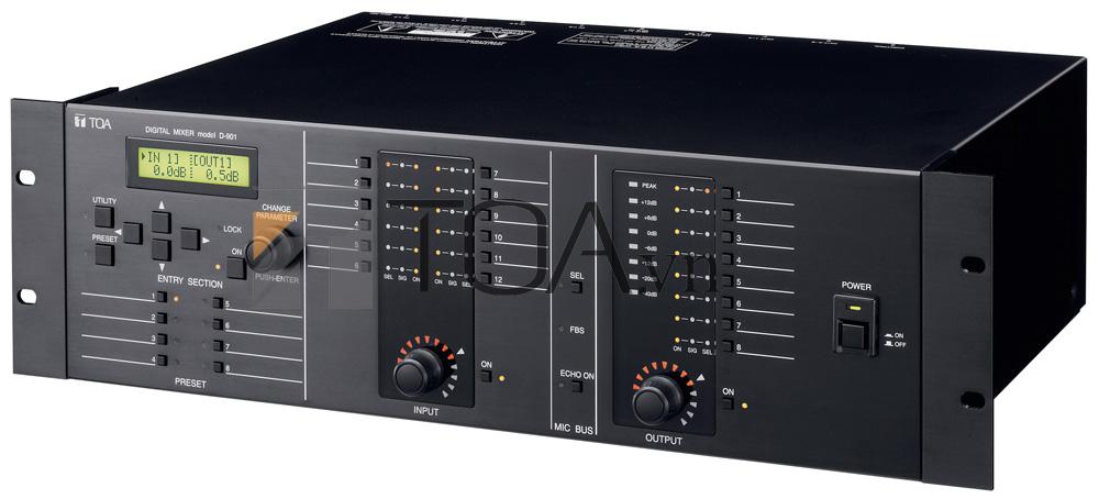 TOA D-901 KR  DIGITAL MIXER , MIXER TOA D-901 KR CHÍNH HÃNG
