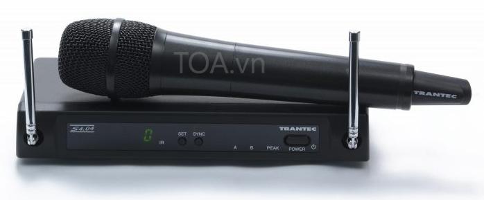 bộ thu phát không dây 4 kênh TOA S4.04-HD, TOA S4.04-HD chính hãng, giá bán S4.04-HD