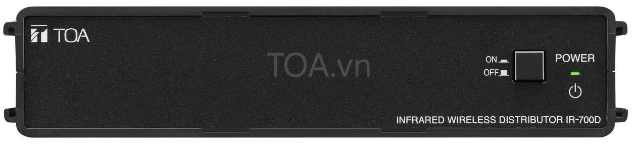 Bộ chia tín hiệu không dây hồng ngoại toa IR-700D, TOA  IR-700D CE giá rẻ,  IR-700D chia tín hiệu không dây