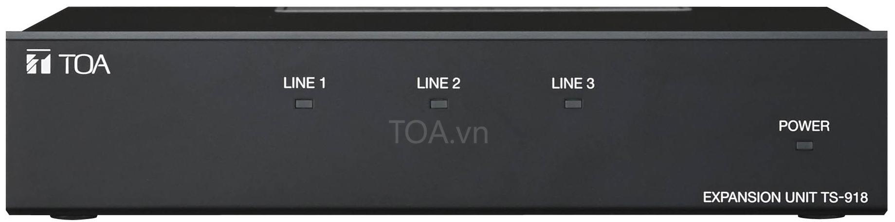 Thiết bị mở rộng TOA TS-918,  TS-918 CE âm thanh hội thảo, bán TOA  TS-918,  giá thiết bị  TS-918 CE