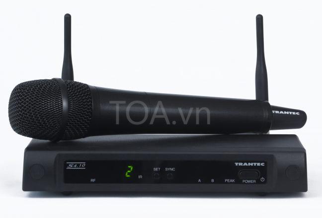 bộ thu phát không dây 10 kênh toa S4.10-HD, giá bán TOA S4.10-HD chính hãng, mua S4.10-HD liên lạc không dây