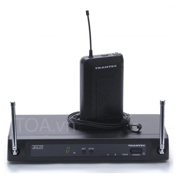 bộ thu phát không dây 4 kênh TOA S4.04-L, Trantec  S4.04-L