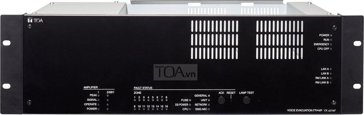 Khung giám sát 16 kênh TOA VX-3016F, TOA VX-3016F chính hãng
