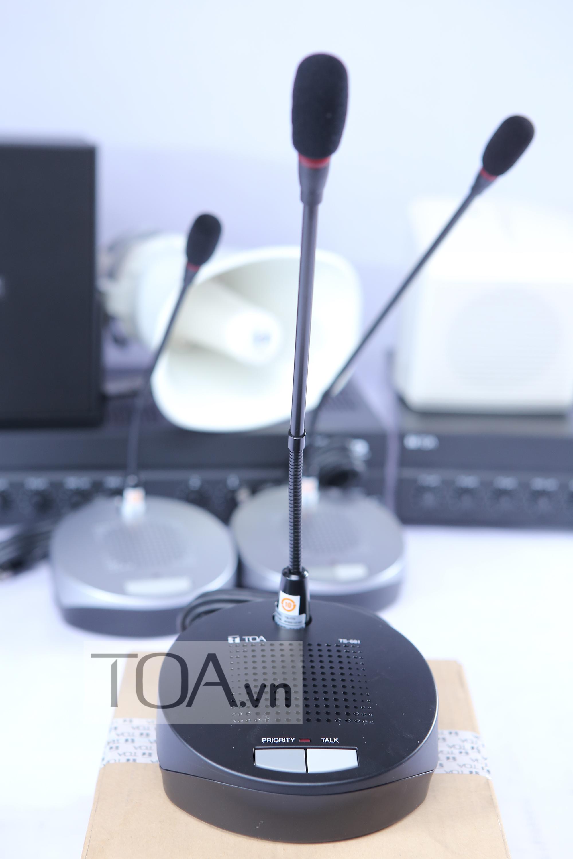 TOA TS-681AS, thiết bị hội thảoTOA TS-681AS,thiết bị hội thảo TOA TS-681AS, thiết bị hội thảo âm thanh TOA