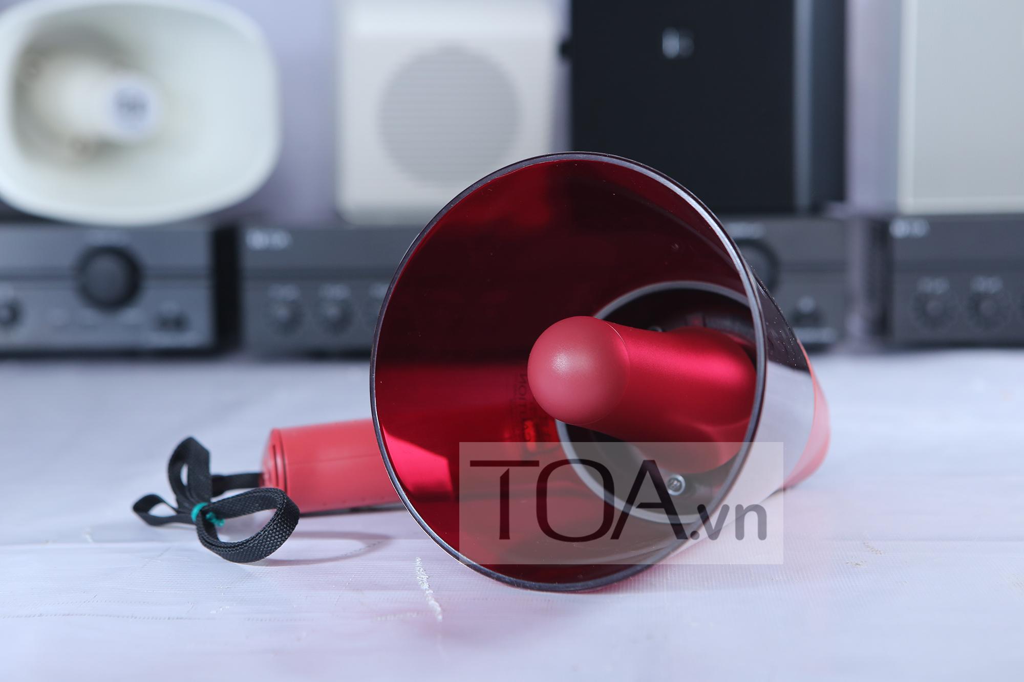 MEGAPHONE CAM TAY CHONG NUOC TOA ER 1206S, MEGAPHONE TOA ER 1206S, ER 1206S
