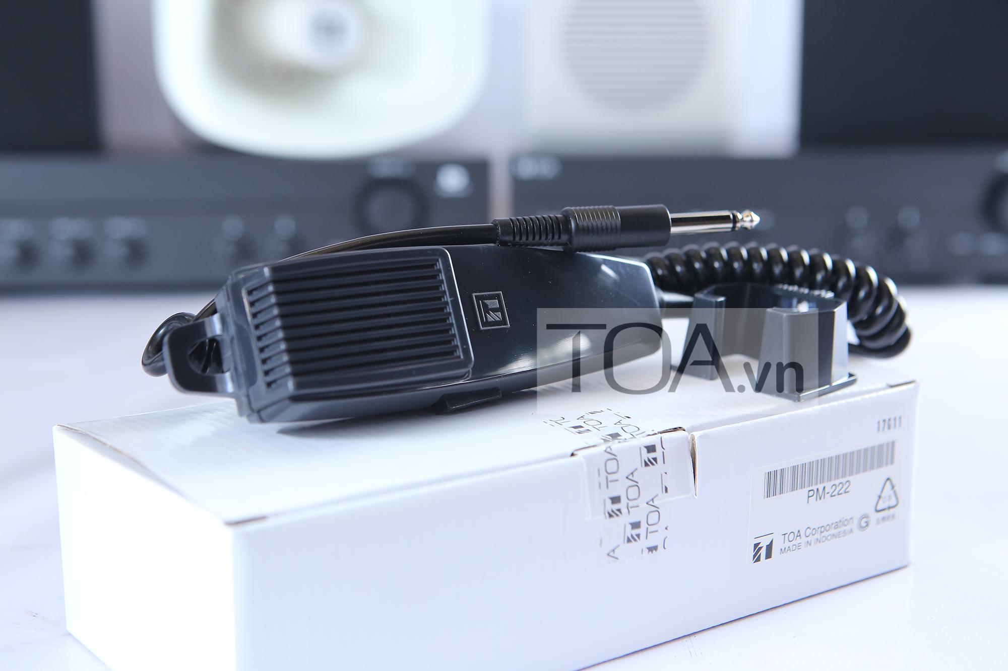 Micro thông báo TOA PM-222D