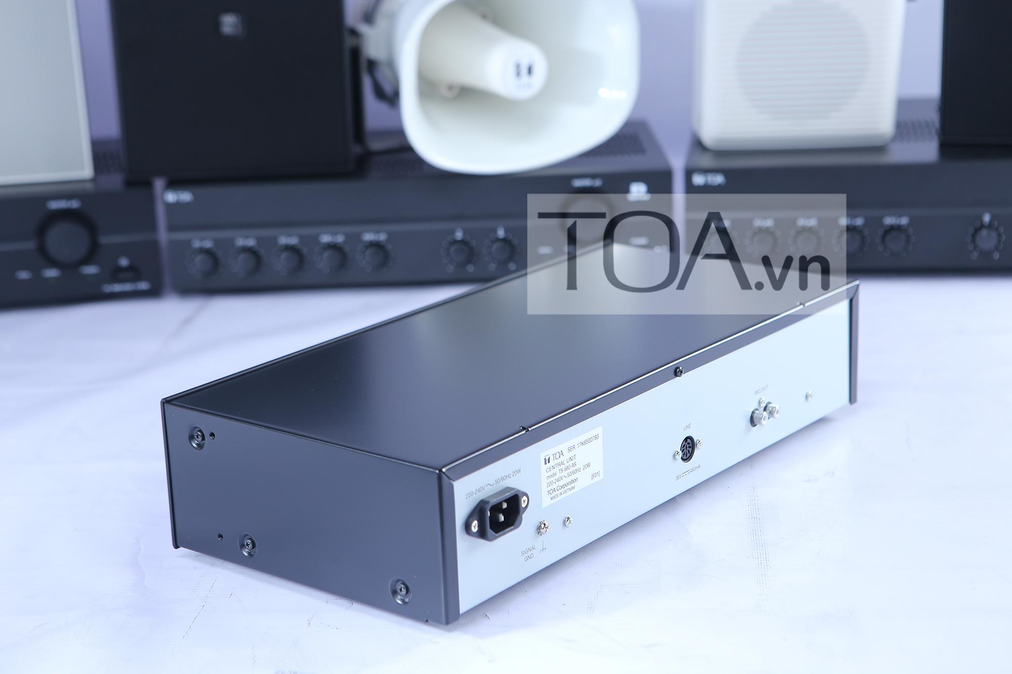 TOA TS-680AS, thiết bị hội thảoTOA TS-680AS,thiết bị hội thảo TOA TS-680AS, thiết bị hội thảo âm thanh TOA